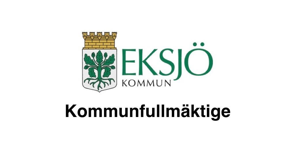 23 maj Eksjö kommunfullmäktige