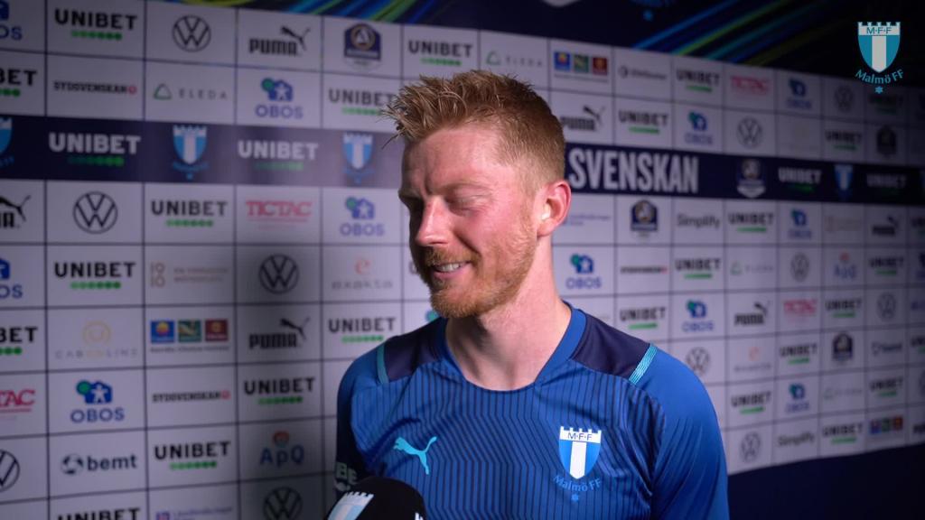 Intervju med Anders Christiansen efter 4–0 mot Sirius