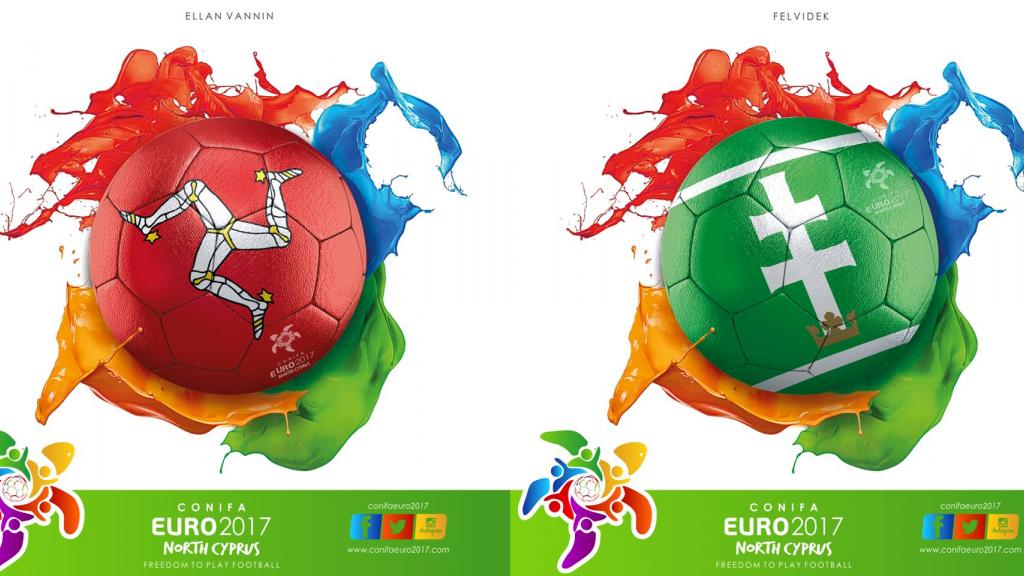 CONIFA Euro 2017: Ellan Vannin - Felvidek LE