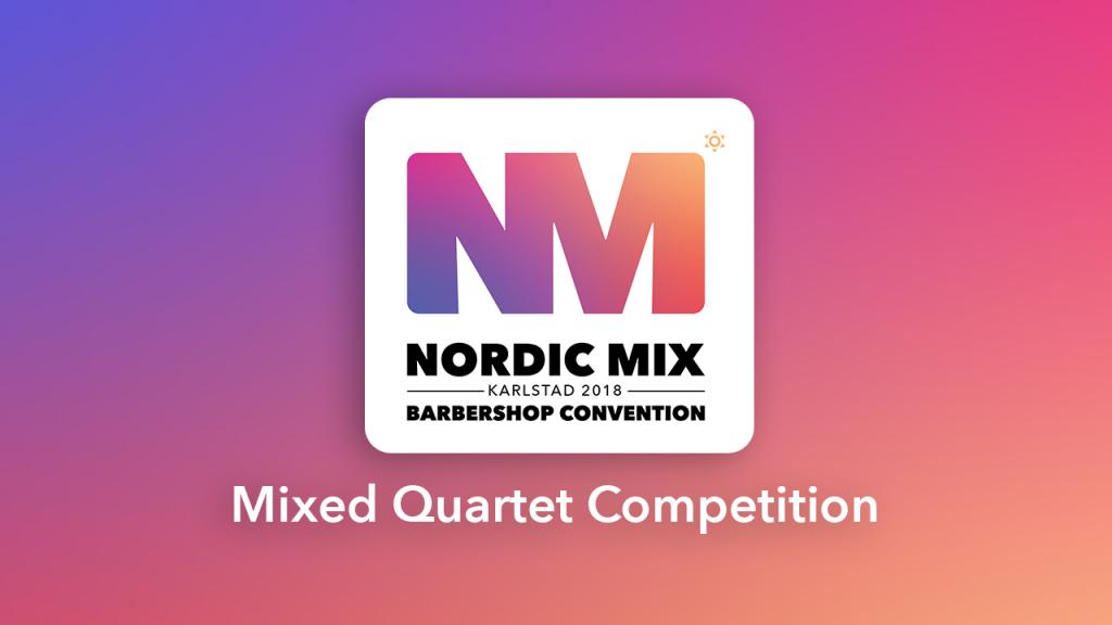 Mixed Quartet Competition