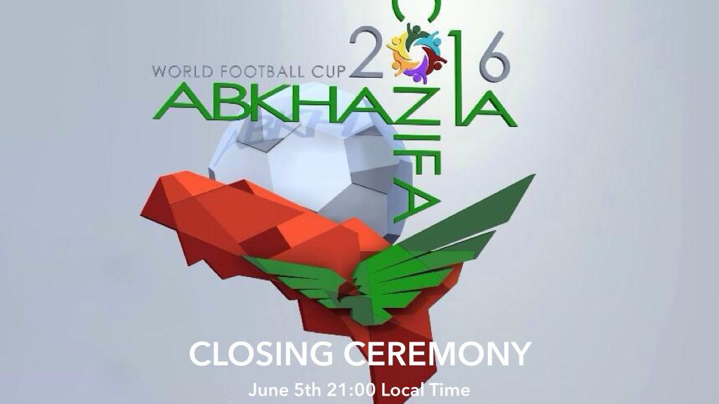 CONIFA WFC 2016 - Closing Ceremony