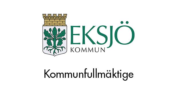 26 september kl.18.00 Eksjö kommunfullmäktige