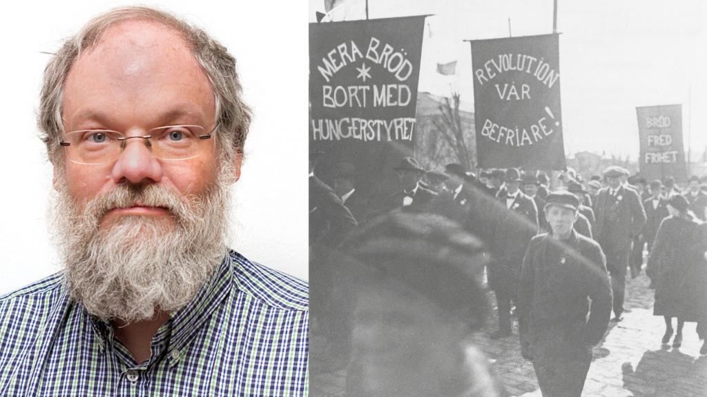 Det var 1917 och vi frös och vi svalt. Upplopp och hungerprotester i Kalmar län