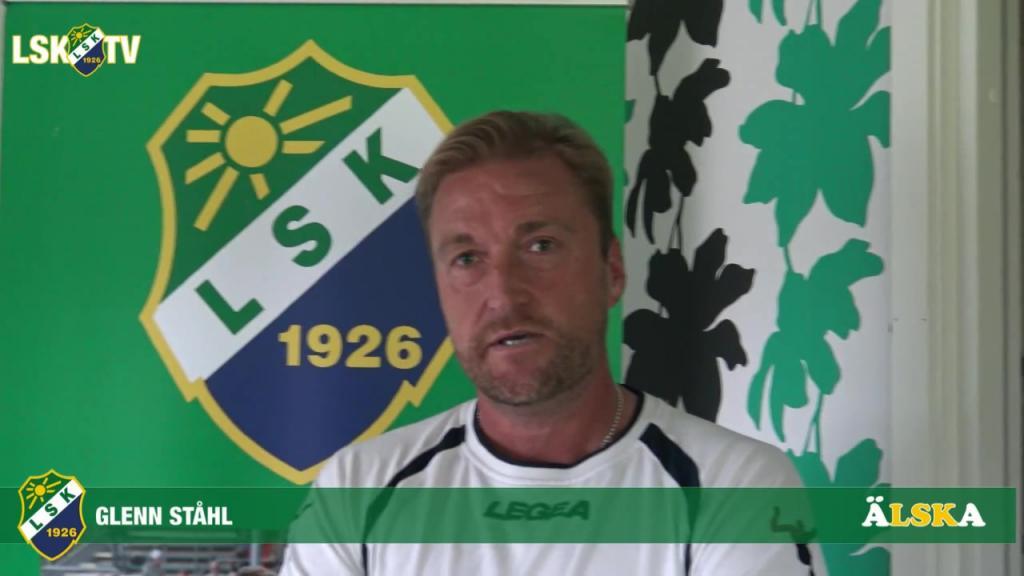 Glenn Ståhl inför hemmamatchen mot Ängelholms FF