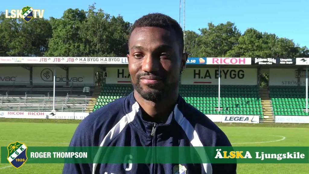 Roger Thompson matchens LSK-profil mot Skövde AIK