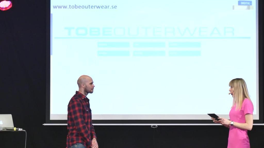 Tomas Berntsson på ToBe Outwear