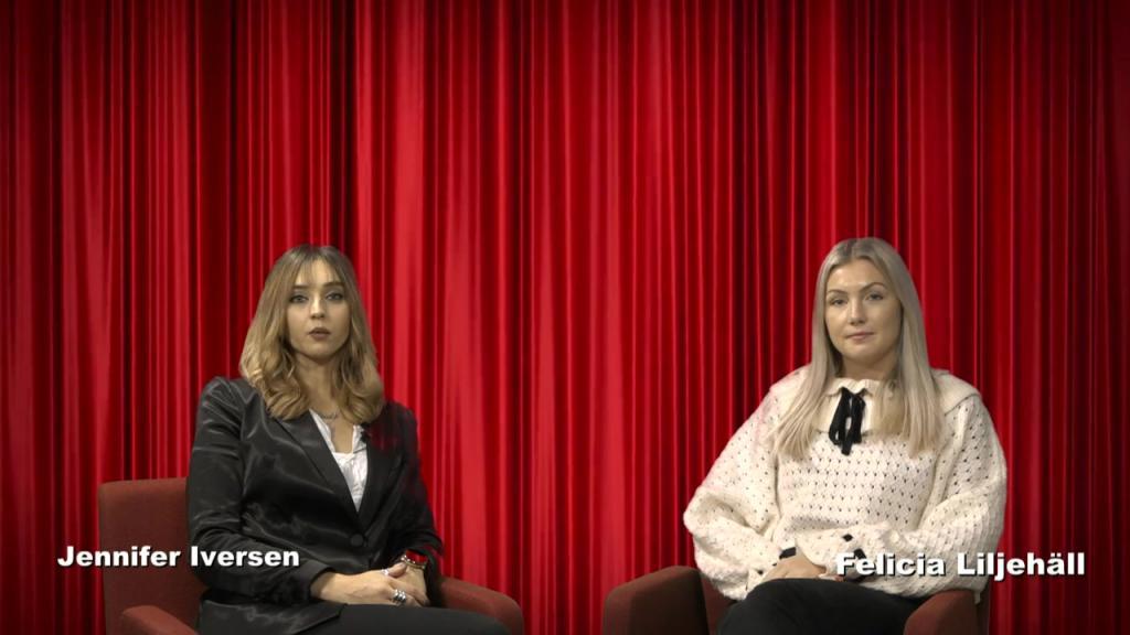 Team 2 – KulturNytt (Jennifer, Felicia, Erika, Jenny) Live - 14 Dec 15:31 - 15:36