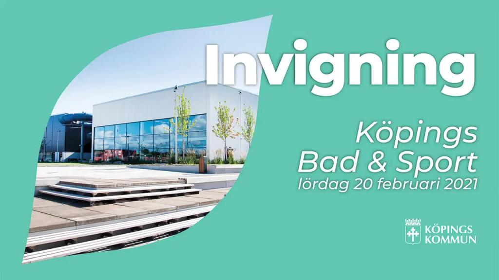 Invigning Köpings Bad & Sport