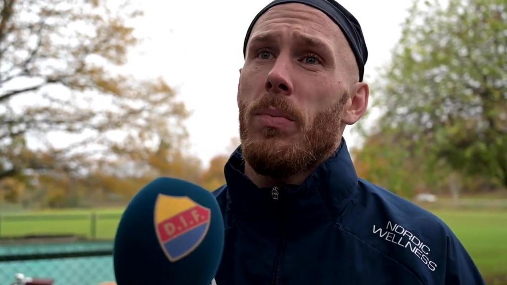 Kim Bergstrand och Magnus Eriksson inför Djurgården - Kalmar