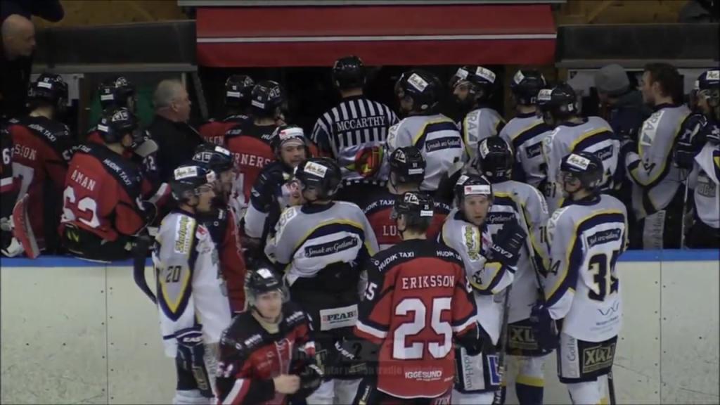 Highlights Hudik Hockey - Visby 2017-02-11