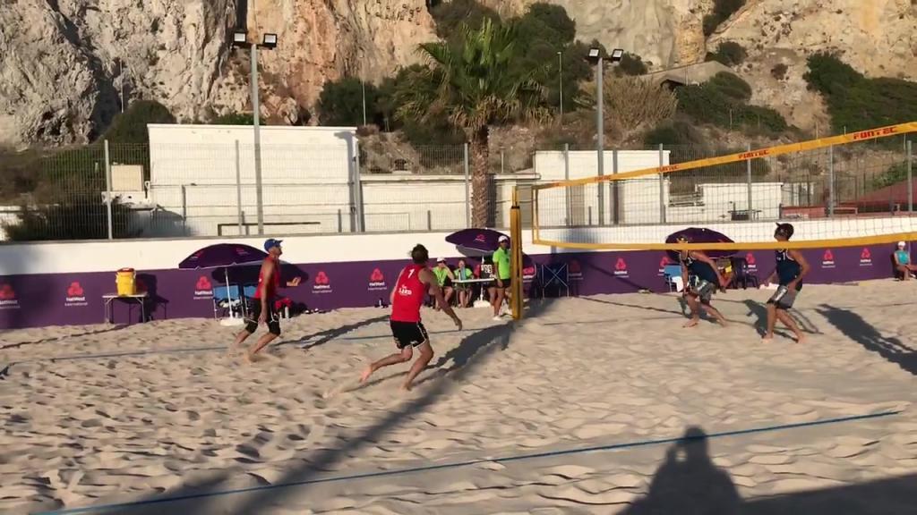 Kvartsfinaler i beachvolley