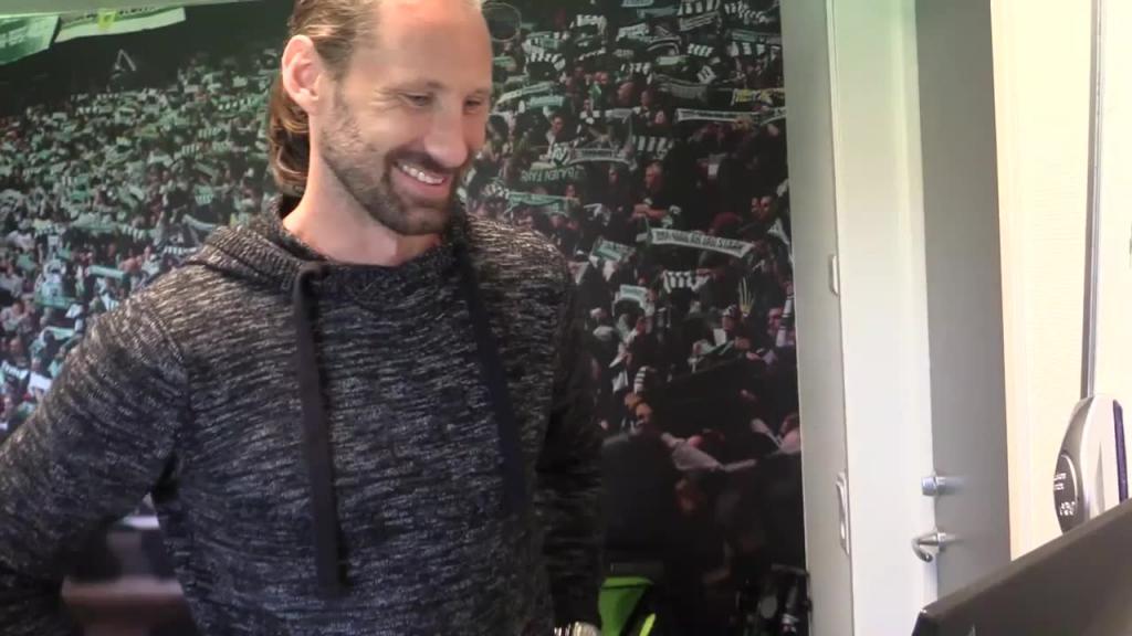 BUS-TV - Fråga en spelare: Johan Wiland