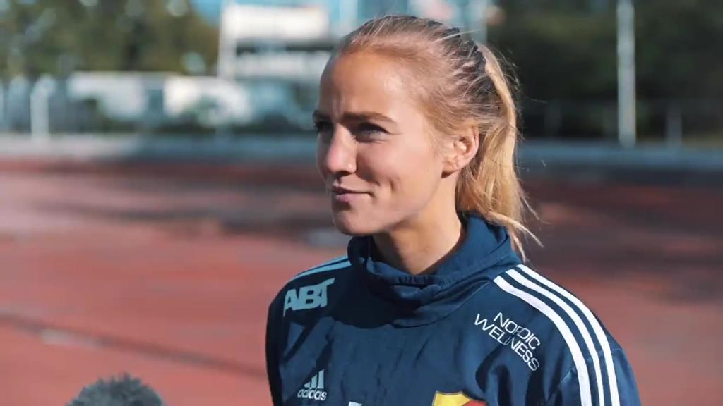 """Irma Helin: """"Hemma på Stadion är det vi som ska styra matchen"""""""
