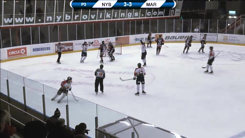 Vikings-TV: Nybro - Mariestad 3-4