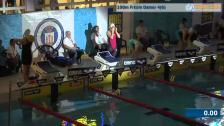 47 100m Frisim Damer Försök SM/JSM 25m 2015