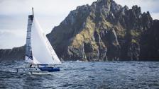 Uppdraget avklarat – först att foila runt Kap Horn