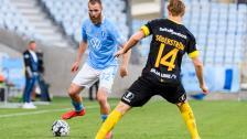 Jo Inge Berget efter sitt första mål för säsongen