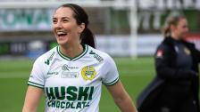 Anna, Emilia och Helén inför bortaderbyt mot AIK