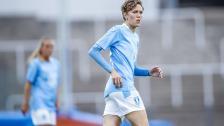 Anna Hellsten efter segern över IFK Klagshamn