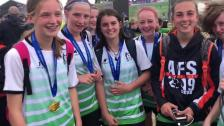 SWAG Academy U14 Girls Cup Winners