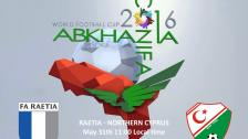 Raetia - Northern Cyprus - 31 May 08:00 GMT