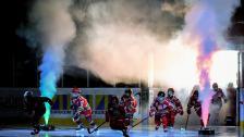 MODO Hockeys intro i matchen mot Västerås