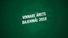 Årets Bajenmål 2018 - här är vinnarna!