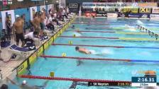 56 4X100m Medley Herrar Sr Heat 3 SM/JSM 25m 2015