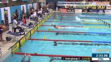 54 4X100m Medley Damer Sr Heat 3 SM/JSM 25m 2015