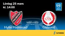 Hylte/Halmstad - Gislaved (D)