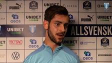 Intervju med Adi Nalic efter Malmö FF – FC Midtjylland