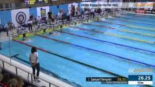 40 100m Ryggsim Herrar Heat 4 SM/JSM 25m 2015