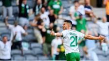 Höjdpunkter från segern över Maribor