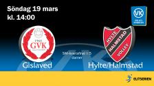 Gislaved - Hylte/Halmstad (D)