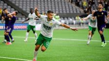Astrit och Oliver inför Maribor borta