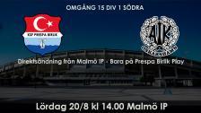 KSF Prespa Birlik - Oskarshamns AIK