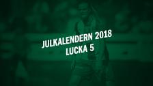 Julkalendern 2018 - Lucka 5