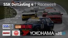 2018 SSK Deltävling 4 - Raceweek - Söndag
