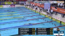 40 100m Ryggsim Herrar Heat 3 SM/JSM 25m 2015