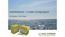 Litiumjonbatterier i båten