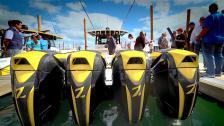 Vi provar Miamis galnaste fiskebåt med 4 x 627 hk!