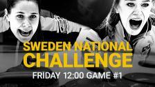 Game #1 – Sweden National Challenge - 11 Dec 12:25 - 14:10