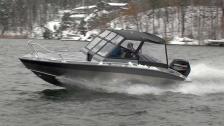 Silver Shark BR 580 – prispressad båt i plast och plåt