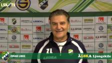 Zoran Lukic inför matchen mot IFK Värnamo