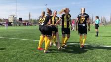 Mål, ribbträffar och intervjuer efter 2-1-vinsten i Uppsala