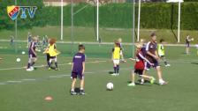 Full fart framåt på DIF:s sommarfotbollsskola
