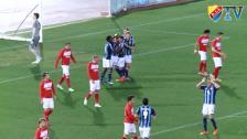 Höjdpunkter från Djurgården-Spartak Moskva