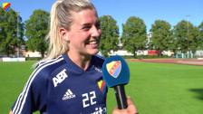 Olivia Schough inför Eskilstuna United