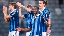Klipp från Allsvenskans podcast med Amadou Jawo