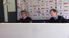 Presskonferensen efter Gefle - Djurgården